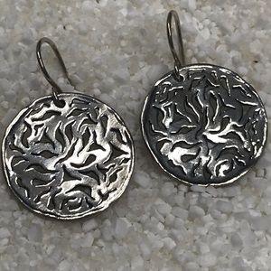 Silpada filigreed earrings